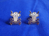 3rd CARABINIERS ( PRINCE OF WALES'S DRAGOON GUARDS ) CUFF LINKS